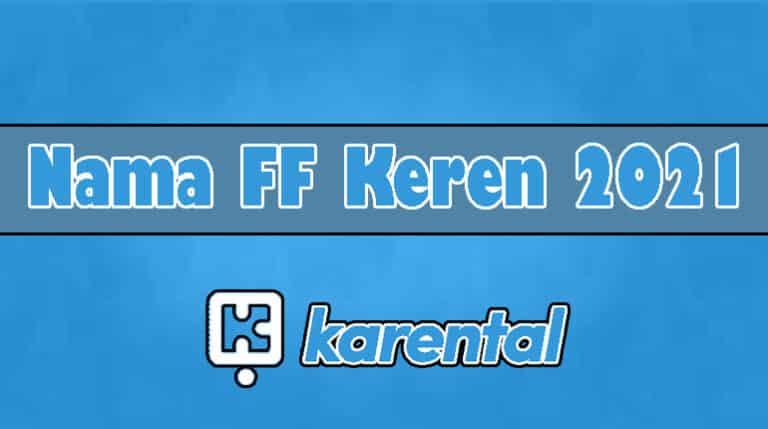 Nama FF Keren 2021